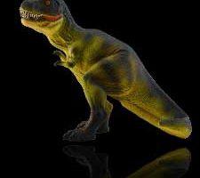 Tyrannosaurus Rex verde lámpara luces LED