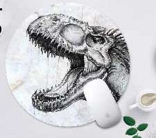 GODTOOK Alfombrilla de ratón Dinosaurio T-Rex