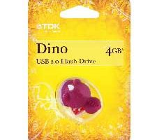 TDK Dinosaurio de 4 GB USB 2.0