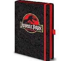Pyramid Jurassic Park Notebook Premium Logo