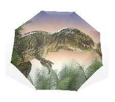 XiangHeFu Paraguas diseño de Dinosaurio y Selva