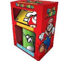 Super Mario 'Yoshi' Taza posavasos y llavero