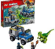 LEGO Juniors Camión de rescate del Raptor