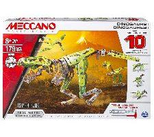 Meccano Juego de construcción 10 Modelos de Dinosaurios
