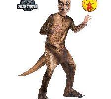 Jurassic World - Disfraz de dinosaurio T-Rex para niños