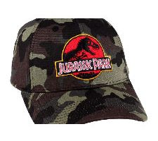 Codi Jurassic Park Baseball Cap Camouflage Logo