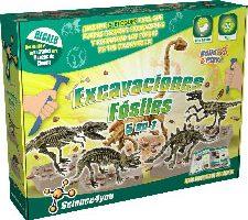 Science4you Excavaciones fósiles 5 en 1 Juguete científico y Educativo