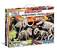 Clementoni Depredadores y presas Juego con dinosauros