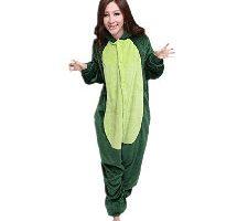 Misslight Pijama Dinosaurio Verde