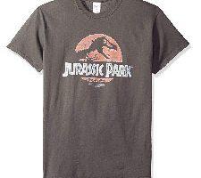 Parque jurásico Logo Dinosaurios película Spielberg Camiseta Adulto