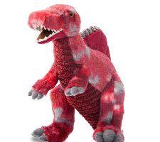 Aurora Dinosaurio Spinosaurus Color Rojo