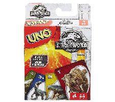 Mattel Games UNO Jurassic World juego de cartas