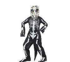 Smiffy'S 48006M Disfraz Deluxe De Esqueleto