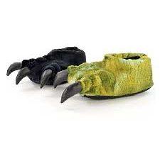 Pantuflas diseño Pata de Dinosaurio
