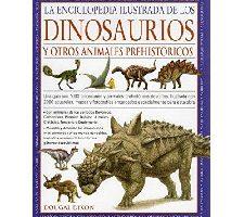 Enciclopedia Ilustraciones dinosaurios y animales prehistóricos
