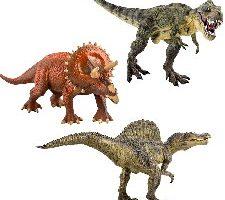 deAO Dinosaurios SET de 3