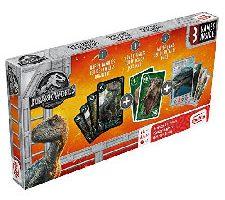 Cartamundi Jurassic World Trípode para Juegos de Cartas