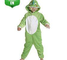 Pijamas de un Pieza Niño Niña Dinosaurio 13-14 Años