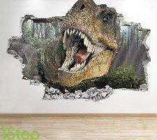 1Stop Graphics Shop Adhesivo Pared Dinosaurio
