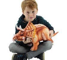 Sweety Toys Dinosaurio Peluche Triceratops
