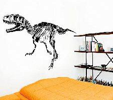 mondial-Fete Pegatina Adhesiva Esqueleto Dinosaurio