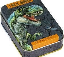SpieSpiegelburg Juego de Cartas Mau Mau Dinosaurios T-Rex World