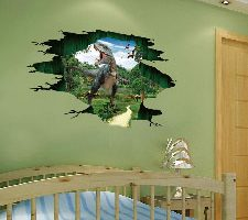 Dragon868 Pegatinas de pared, dinosaurios