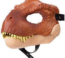Jurassic World Máscara de juguete Tyrannosaurus Rex Mattel