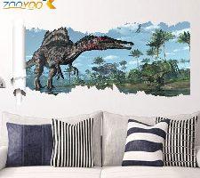 Zooarts Adhesivo de Pared Dinosaurios