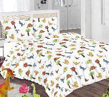 Sasa Craze Juego de edredón y fundas de almohada diseño de dinosaurios