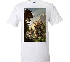 Triceratops Dinosaur Camiseta Premium