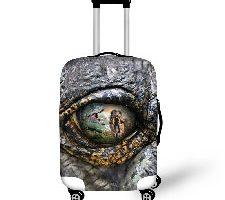 Dinosaurios Ojos Funda Protectora maletín con Cremallera