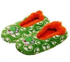 Zapatillas interiores oficiales Super Mario Yoshi