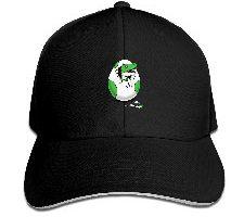 LUXNG Gorra de béisbol diseño de Dinosaurios Color Negro