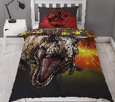 Jurassic World Funda de edredón Individual