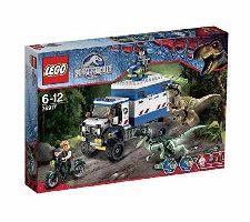LEGO Jurassic World El Caos del Raptor