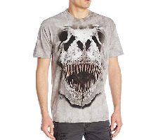 The Mountain Camiseta T-Rex Big Skull Dinosaur Adult Unisex