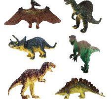 JZK 6 Conjunto Surtido Dinosaurio de Juguete