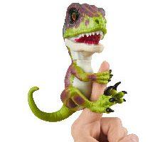 Wowwee Stealth Fingerlings Velociraptor Verde