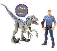Jurassic World Pack de 2 figuras de acción Owen Mattel
