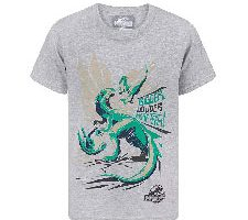 Camiseta Oficial Jurassic World Niño