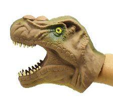 TOYMYTOY Juguete Marioneta de Dinasaurio de Goma Tyrannosaurus rex