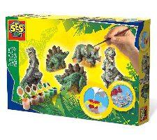Set para pintar figuras de dinosaurios importación alemana